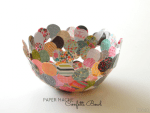 Tutorial | Confetti Paper Bowl