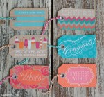 Freebie | Summer Themed Gift Tags & Gift Wrap