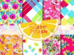 Freebie | Summer Crush Printable Paper Set