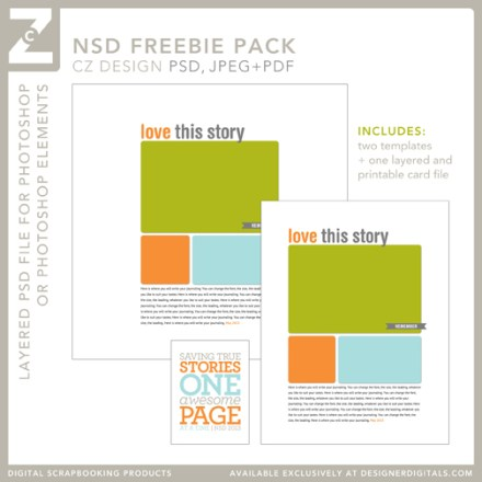 NSD Freebie Pack from Cathy Zielske