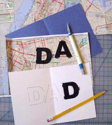 Tutorial - DIY Father's Day Card from Holidash