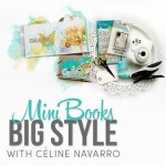 Giveaway | Celine Navarro's MiniBook Class at Two Peas in a Bucket