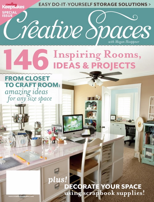 Creative Spaces by Creating Keepsakes