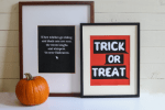 Freebie | Halloween Printable Posters