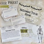 Freebie | Printable Halloween Trivia Game