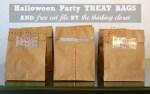 Freebie | Cut File for Halloween Treat Bags