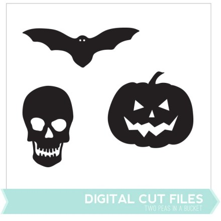 Freebie - Halloween Cut Files from Two Peas in a Bucket