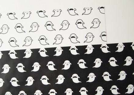 Halloween Ghouls Wrapping Paper
