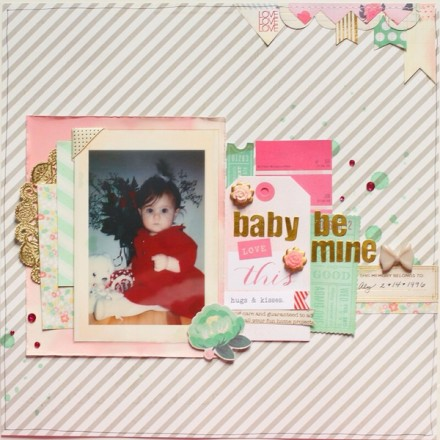 Inspiration du Jour - Baby be Mine by brooklyngirl