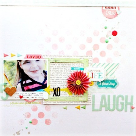 Inspiration du Jour - Laugh by Melanie Blackurn