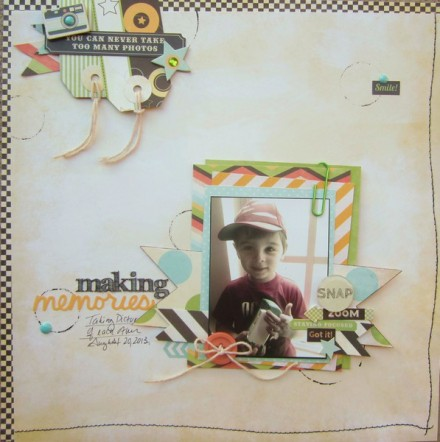 Inspiration du Jour - Making Memories by dluscan