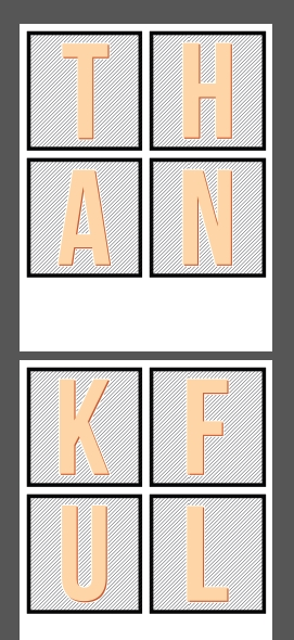Freebie - Printable Thankful Banner from Teresa Collins