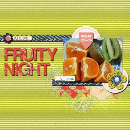 Inspiration du Jour - Fruity Night