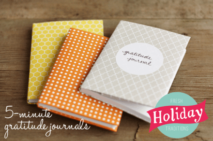 Tutorial - 5 Minute Gratitude Journals by Lulu the Baker