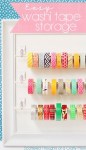 Tutorial | Easy Washi Tape Storage