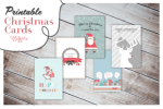 Freebie | Printable Christmas Cards