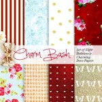 Freebie | 8 Printable Patterned Papers