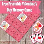 Freebie | Printable Valentine's Day Memory Game