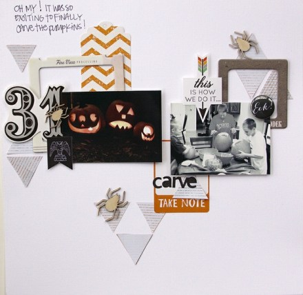 Inspiration du Jour - Carve by Peally Scrappy