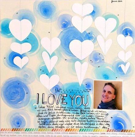 Inspiration du Jour - I Love You by SkippyAB