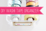 Tutorial | DIY Washi Tape Organizer