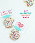 Tutorial | DIY Valentine Goody Bags with Printable