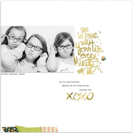 Inspiration du Jour - XOXOXO by Janelle Miller