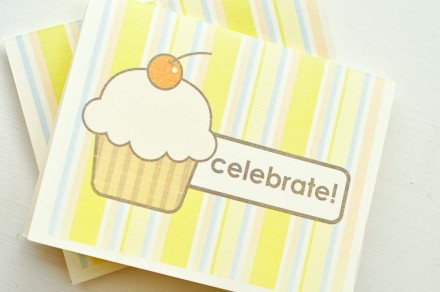 Freebie - Printable Cupcake Birthday Card