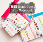 Tutorial – DIY Mini Patterned Notebooks