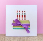 Tutorial | Birthday Cake Card