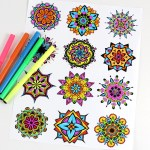 Freebie | Mandala Coloring Pages for Children and Adults