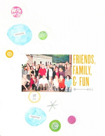 Inspiration du Jour - Friends, Family and Fun by ShayneBundy