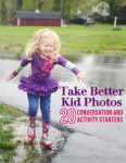 Photography for Scrapbookers | Get Better Everyday Photos of Kids