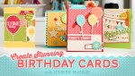 Giveaway | Birthday Card Class at Craftsy