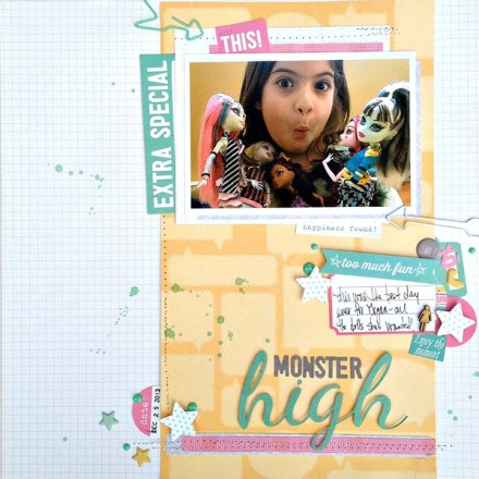 Inspiration du Jour - Monster High by Kristine