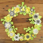Tutorial | Paper Flower Wreath