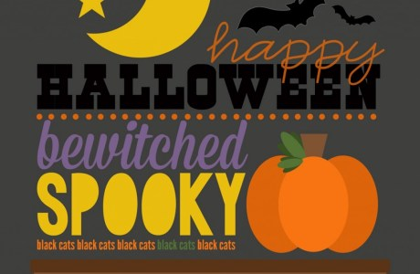 Freebie - Halloween-Printable from InSiteFull
