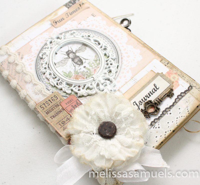 Tutorial - accordion fold mini book by Melissa Samuels