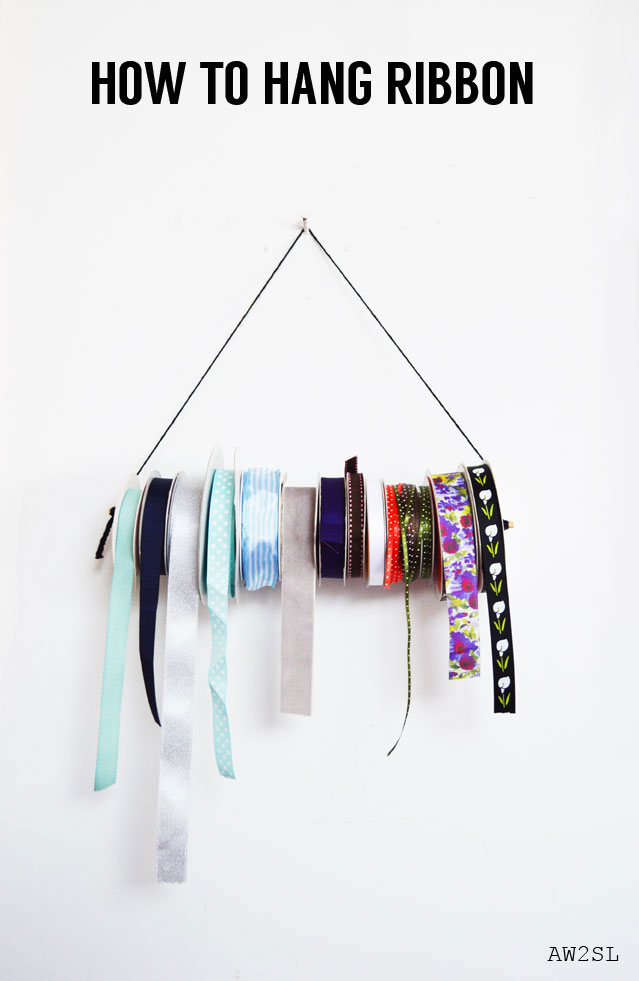 Tutorial - how-to-hang-ribbon