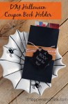 Tutorial | DIY Halloween Coupon Book Holder