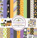 6 Great 12 x12 Halloween Scrapbook Collections