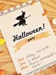 Freebie | 1 Halloween Invitation