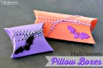 Tutorial | 2 Ways to Make Halloween Pillow Boxes