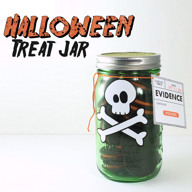 Halloween Treat Jar Tutorial - Stamped in his image