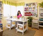 Visit an Ultra Organized Scrapbook Room