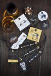 Freebie | Printable Black & Gold Christmas Gift Tags
