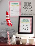 Freebie | Welcome Elf on a Shelf Cocoa Party Printables