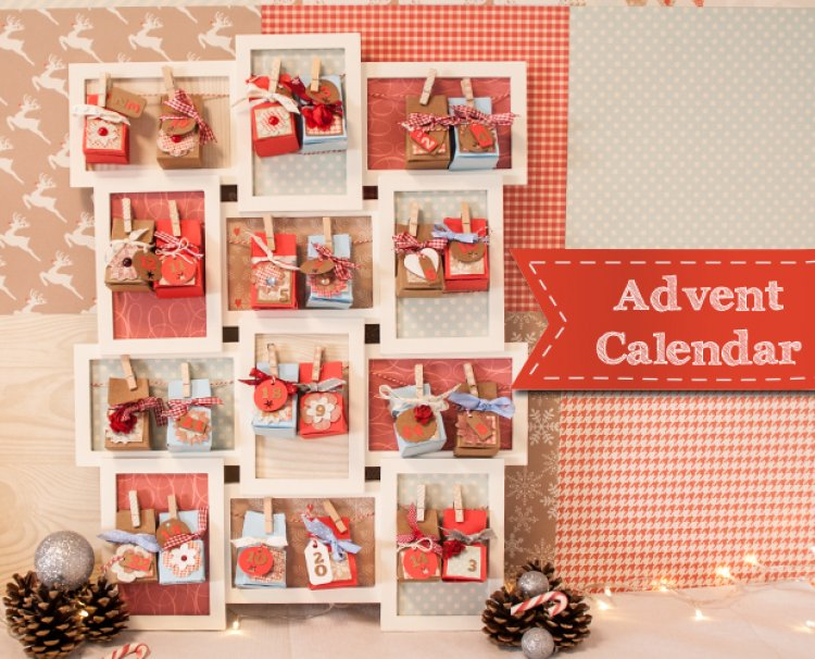 Advent Calendar Diy Template : Freebie diy advent calendar scrap booking
