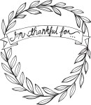 "Freebie | ""I'm Thankful For"" Thanksgiving Printable"