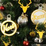 Freebie   Christmas Tree Baubles Cut File